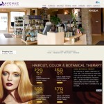 Avenue Salon Spa Ecommerce Site