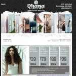 Ohana Salon Ecommerce Site