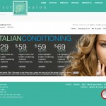 Sweet T Salon Ecommerce Site