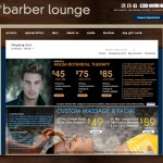 The Barber Lounge Ecommerce Site